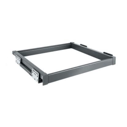 Obrázok pre výrobcu IDEAL rám s tlmením 647 x 480 x 56 mm antracit 2005002602