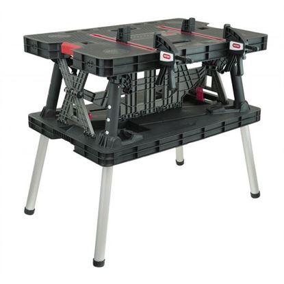 Obrázok pre výrobcu Keter (N120) Skladací pracovný stôl, záťaž max. 453 kg
