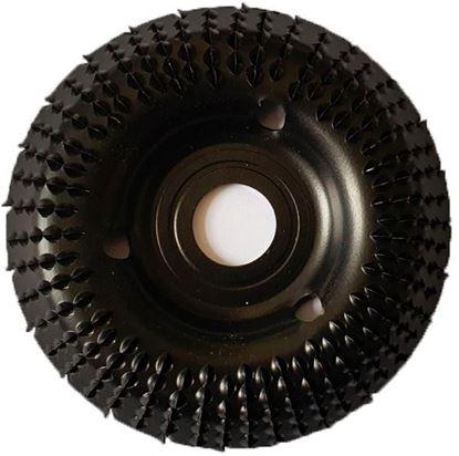 Obrázok pre výrobcu TARPOL rašpľa do uhlovej brúsky, zapustená, 125 x 22,2 mm T-95 V45222