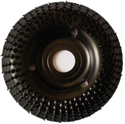 Obrázok pre výrobcu TARPOL rašpľa do uhlovej brúsky štvrťkruhová