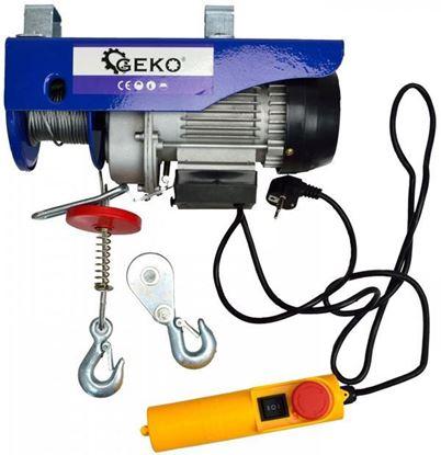 Obrázok pre výrobcu Geko G01087 El. lanový navijak 150 - 300 kg 12 m, 600 W
