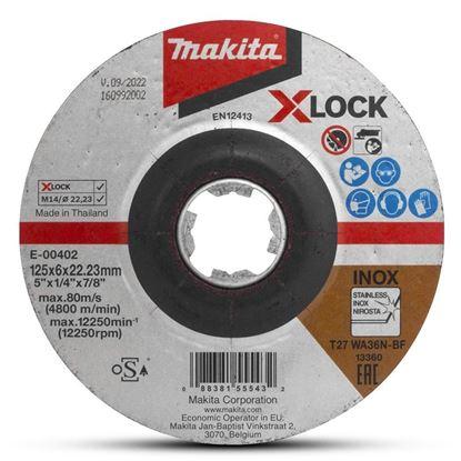Obrázok pre výrobcu MAKITA kotúč brúsny 125 mm X-LOCK
