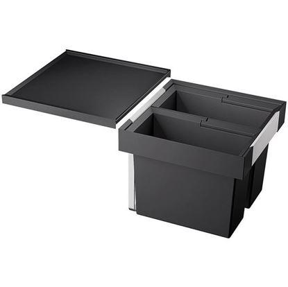 Obrázok pre výrobcu Blanco Flexon II 45/2 2x16l Odpadkový kôš 521468