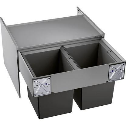 Obrázok pre výrobcu Blanco Select Compact 60/2 2x17l odpadkový kôš výsuvný 523020