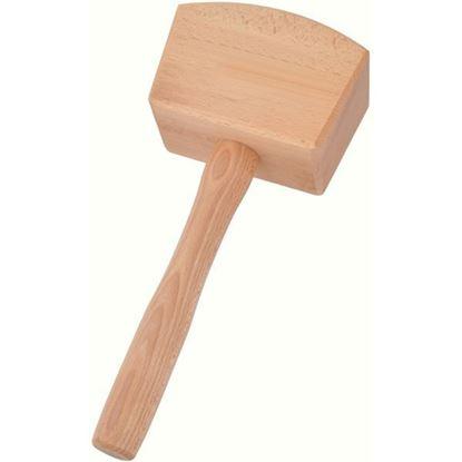 Obrázok pre výrobcu PINIE drevené kladivo / palička 350g 52-1