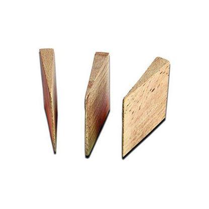 Obrázok pre výrobcu PINIE klinky drevené sada 4ks