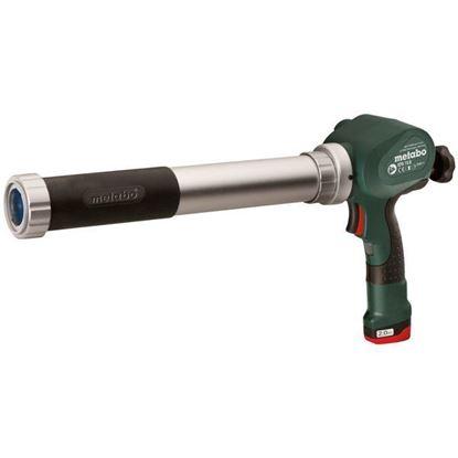 Obrázok pre výrobcu METABO aku. pištoľ na silikón KPA 600 10,8V / 1x2Ah PowerMaxx 602117000