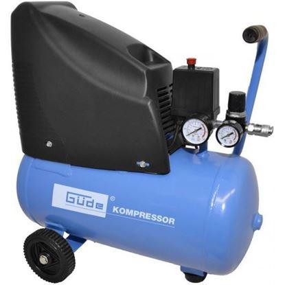 Obrázok pre výrobcu Güde Kompresor bezolejový 1100 W 8 bar 24 litrov 220/08/24 50111