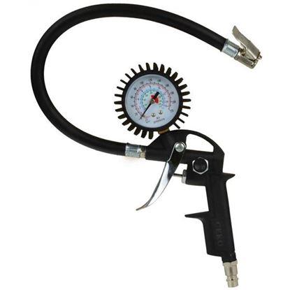 Obrázok pre výrobcu GEKO Pištoľ na plnenie pneumatík s manometrom G01101