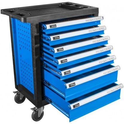 Obrázok pre výrobcu Güde Pojazdná dielenská skrinka s náradím (250 ks) PREMIUM GWSP 07 40877