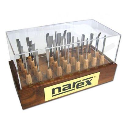 Obrázok pre výrobcu NAREX rezbárske dláta, sada 31dl. 8775-02