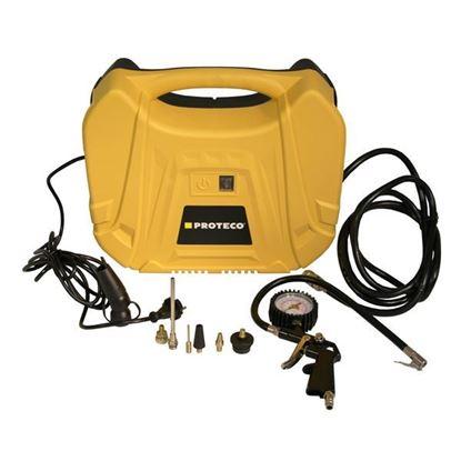 Obrázok pre výrobcu PROTECO bezolejový kompresor mini 230V, 1.1kw, 180 L/min, 51.02-MK-1100
