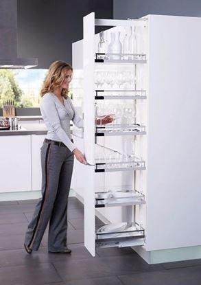 Obrázok pre výrobcu KESSEBÖHMER potravinová skriňa Dispensa, kôš ARENA Style