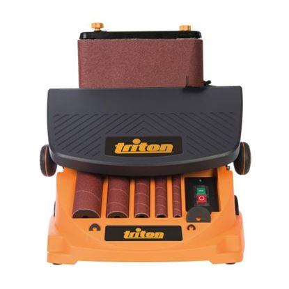 Obrázok pre výrobcu TRITON TSPST450 oscilačná vretenová a pásová brúska 450 W