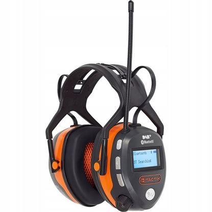 Obrázok pre výrobcu TACTIX ochranné slúchadla BLUETOOTH DAB/FM 488132