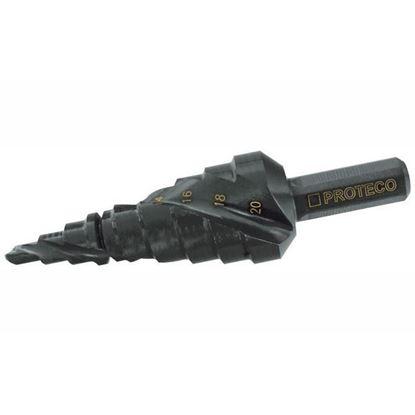 Obrázok pre výrobcu PROTECO vrták stupňovitý 6-38 mm 90.42-ST65