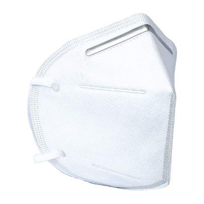 Obrázok pre výrobcu Rúško respiračné KN95 bez ventilu, ochrana FFP2, 2ks