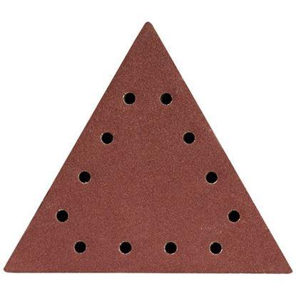 Obrázok pre výrobcu DEDRA brúsny výsek trojuholníkový s otvormi 5ks
