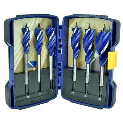 Obrázok pre výrobcu IRWIN sada špirálových vrtákov do dreva 16-32mm 10506628