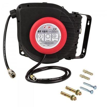 Obrázok pre výrobcu DEMA Automatický navíjací bubon s pneumatickou hadicou 12 m ST 12/1 54002D