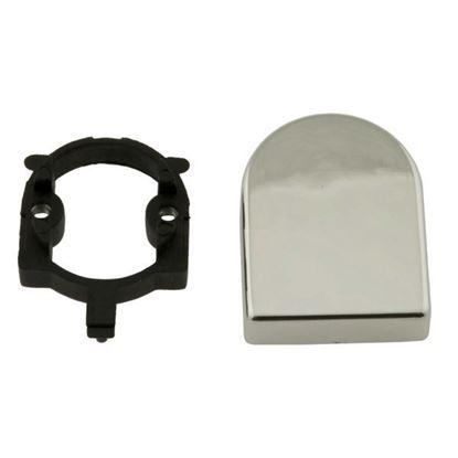 Obrázok pre výrobcu Ovalná krytka k závesu SISO HINGE, 40x30mm matný chróm 2575-20