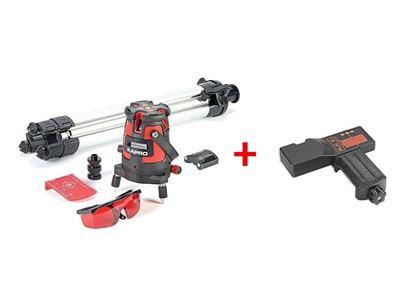 Obrázok pre výrobcu Laser KAPRO 875S Prolaser, v kufri 213460 + Detektor KAPRO 894-04, RED, červený lúč