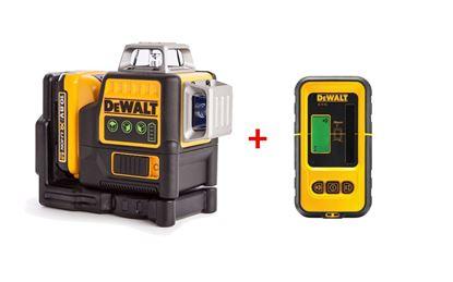 Obrázok pre výrobcu DeWalt DCE089D1G laser + DeWALT DE0892G detektor / zelený lúč