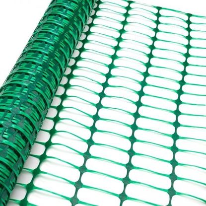 Obrázok pre výrobcu DEMA Bezpečnostný stavebný plot 50x1 m, zelený 31249D