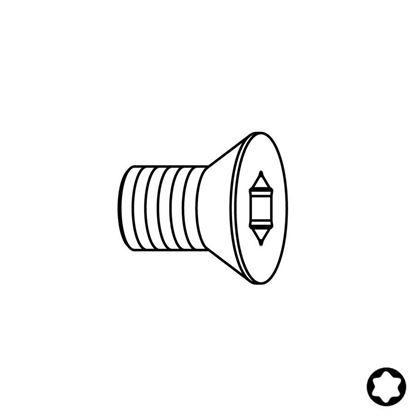 Obrázok pre výrobcu CMT Skrutka TSPTI - M2,5x3x4,5 D3,5 F099-07000