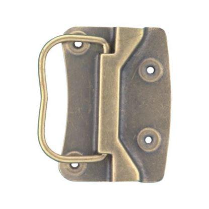 Obrázok pre výrobcu Rukoväť sklopná 80 x 55 mm patina /x168/