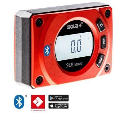 Obrázok pre výrobcu SOLA vodováha digitálna SOLA GO SMART 8cm /01483001/