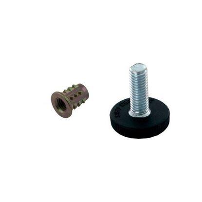 Obrázok pre výrobcu Rektifikačná skrutka ALPHA M8 2692-2 + matica 2692-3