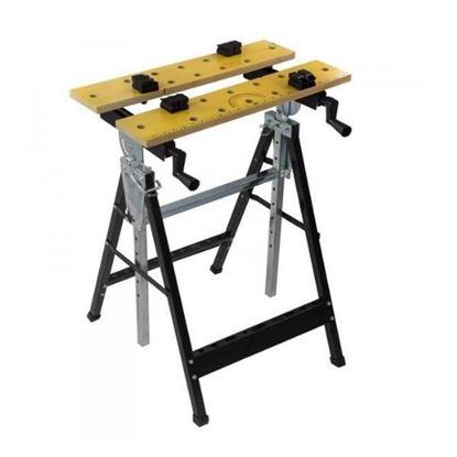 Obrázok pre výrobcu DEMA Skladací stôl upínací DWB100 17937D