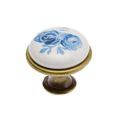 Obrázok pre výrobcu GTV úchytka porcelán knopok J4/A 2908-3