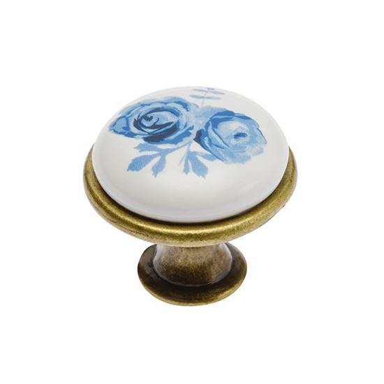 Obrázok GTV úchytka porcelán knopok J4/A 2908-3