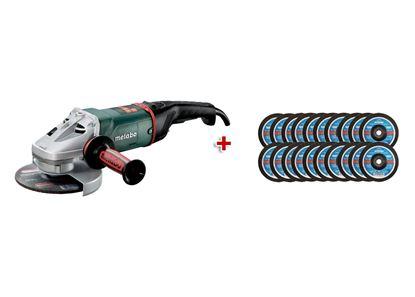 Obrázok pre výrobcu METABO uhl. brúska WE 22-180 MVT 606463000 + RHODIUS rezné kotúče 20ks 180x3x22.2mm GRÁTIS