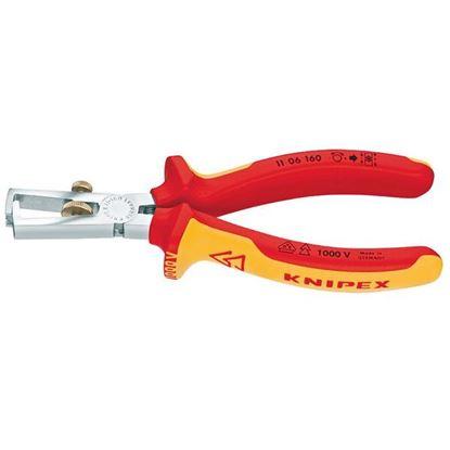 Obrázok pre výrobcu KNIPEX kliešte odizolovacie 160mm 1106160