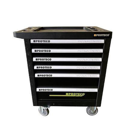 Obrázok pre výrobcu PROTECO skrinka na náradie - 6 zásuviek 43.SNP-6