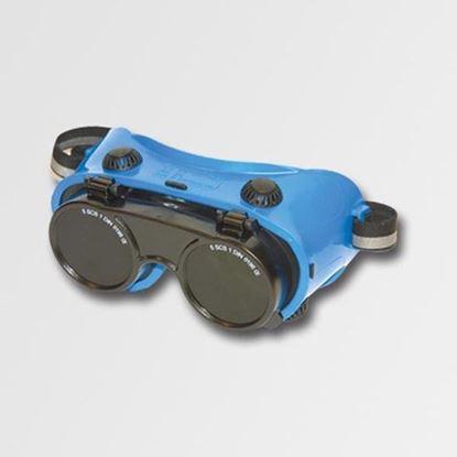 Obrázok pre výrobcu Zváračské okuliare odklápacie, kruhové JA5787-4