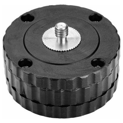 """Obrázok pre výrobcu EXTOL Adaptér rotačný 5/8"""" na 1/4"""" s nastavením horizontálnej polohy 8823919"""