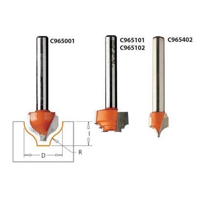 Obrázok pre výrobcu CMT C965 Profilová fréza čelná