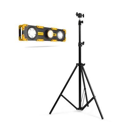 Obrázok pre výrobcu LED reflektor 15W 18649 + statív max. 210cm 18649B