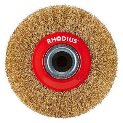 Obrázok pre výrobcu RHODIUS Rotačná kefa s vlnitým oceľovým drôtom