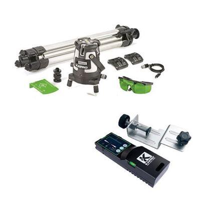 Obrázok pre výrobcu KAPRO Laser 875GS Prolaser, Beamfinder, zelený, v kufri + Diaľkový prijímač 894-04 213777