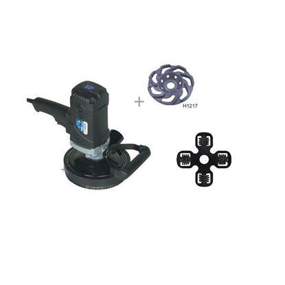 Obrázok pre výrobcu DEDRA el. brúska na betón DED7747 + brúsny kotúč H1260 135mm na omietky
