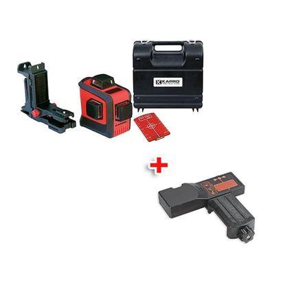 Obrázok pre výrobcu KAPRO Rotačný lasér 883N Prolaser, 3D All-Lines, RedBeam, v kufri 213703 + detektor KAPRO 894-04 213498