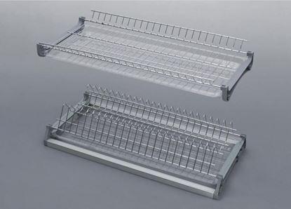 Obrázok pre výrobcu Odkvapkávač na riady VARIANT zabudovateľný chrómový