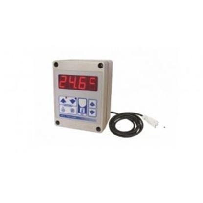 Obrázok pre výrobcu Termostat izbový THD elektronický pre ohrievače MASTER
