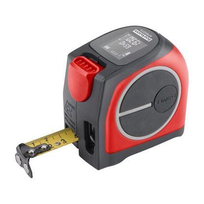 Obrázok pre výrobcu FORTUM Meter zviňovací 5m s laserovým meračom vzdialenosti 40m, LCD 4780275