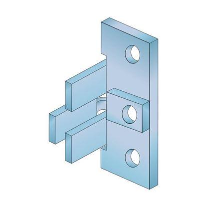 Obrázok pre výrobcu SALU GOLA úchyt kovový pre profily C a J /10CCDJDUCH/
